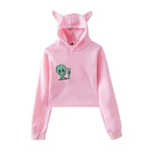 Bobby Mares Cropped Hoodie #1
