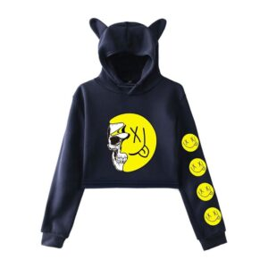 Bobby Mares Cropped Hoodie #6